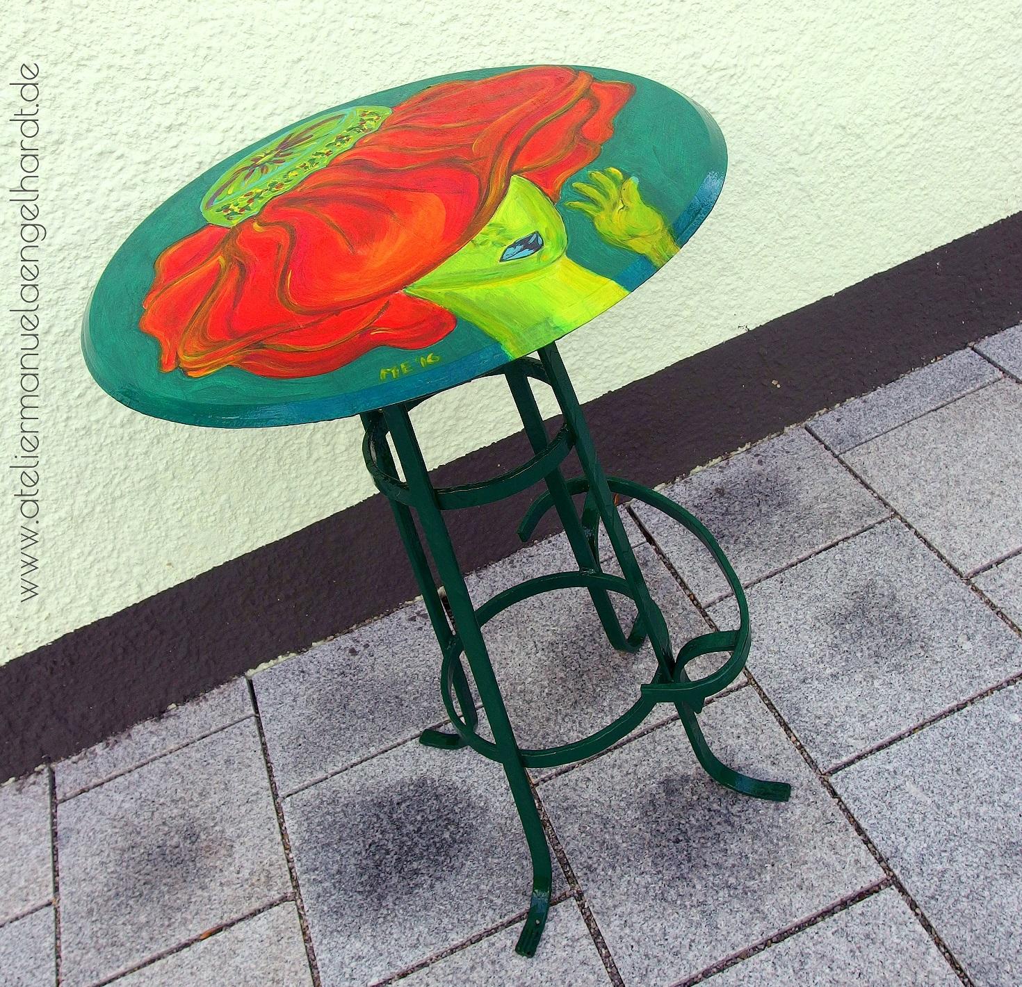 Upcycling Garten-/Balkontisch - Nicht mehr verfügbar.
