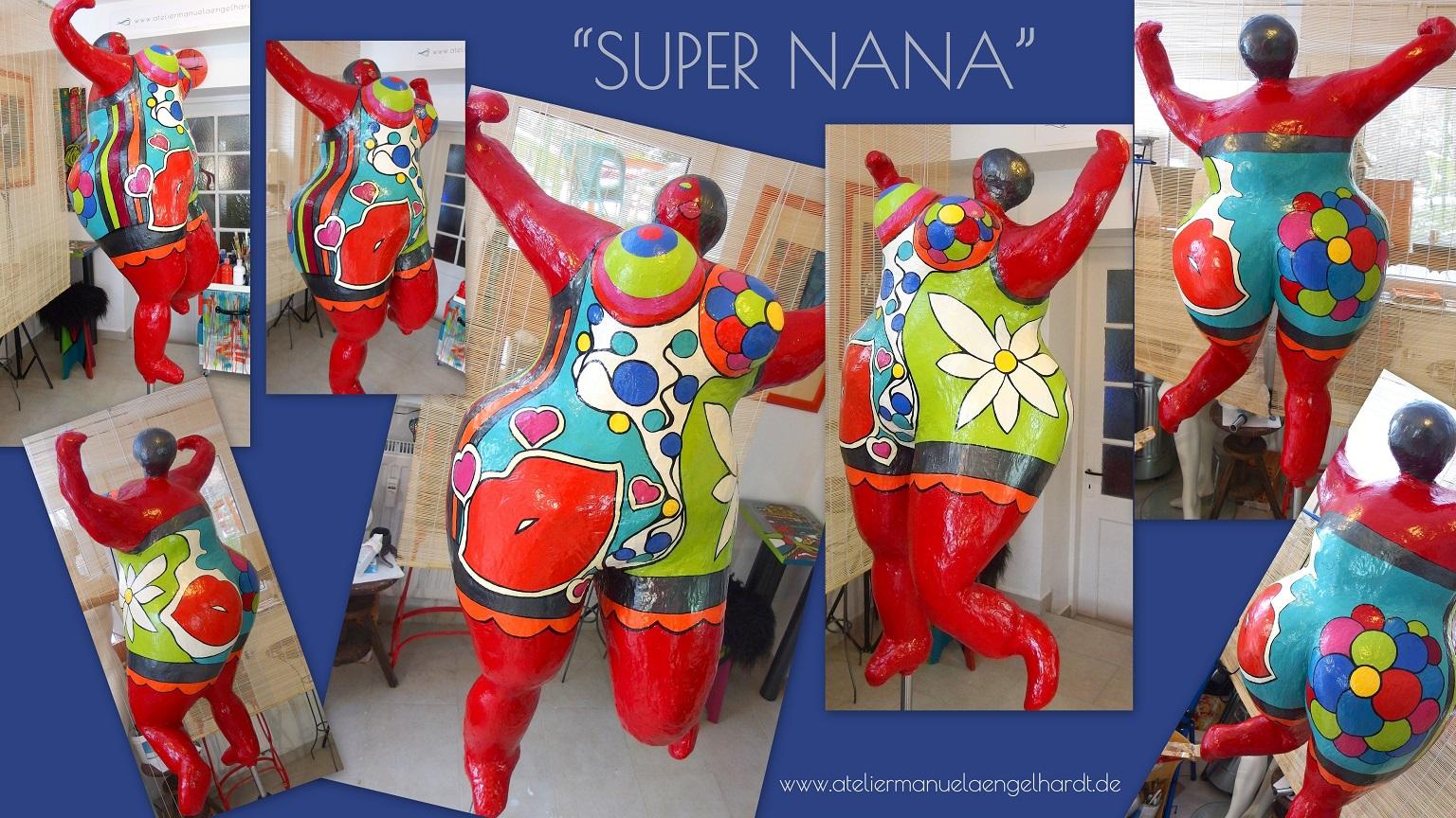 Outdoor Figur Super Nana Kunst Design Artboxmunich