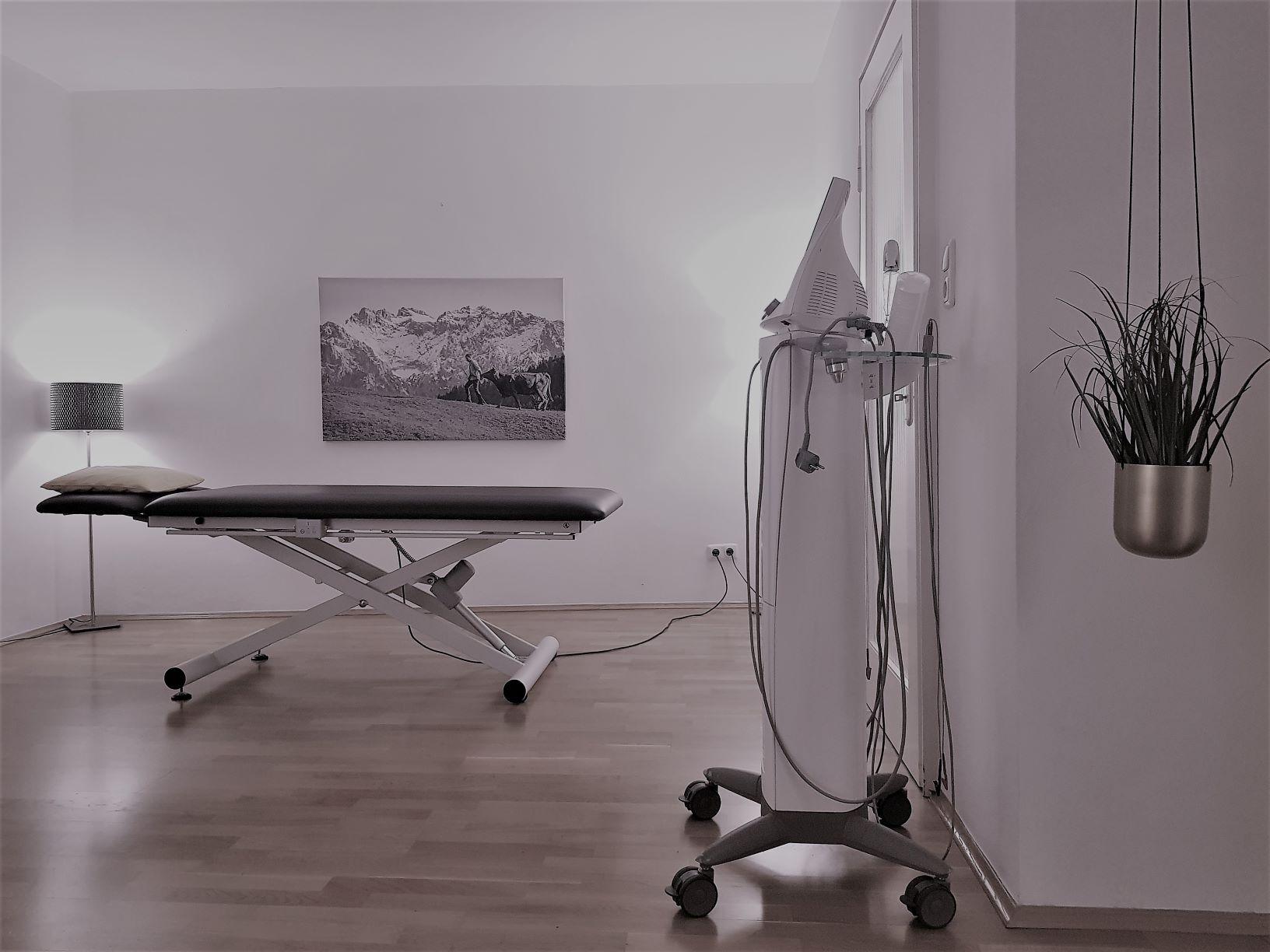 Physiotherapie München Behandlungsraum
