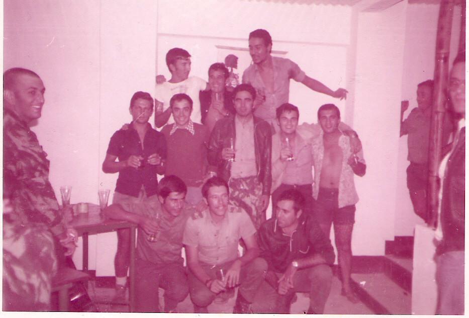 1974 - 2.ª Comp.- Messe - Nangade - Cabo Delgado - Foto de J. Ferra