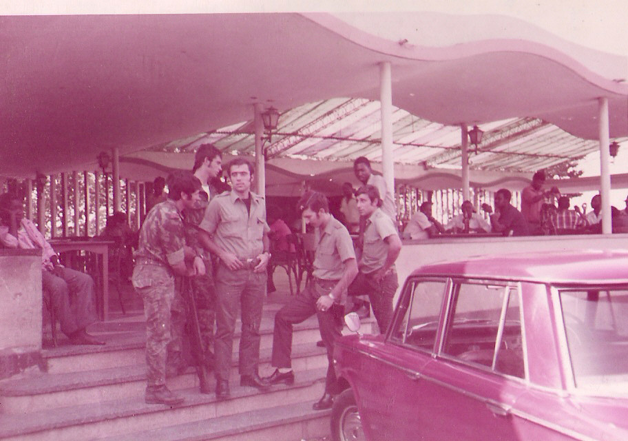 1974 - 2.ª Comp.- Matola - Lourenço Marques - Foto de J. Ferra