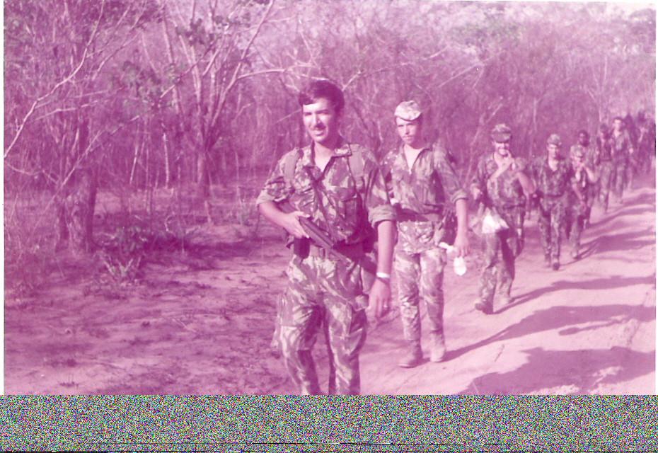 1973 - 1.º Pel.2.ª Comp.- Cabo Delgado - Foto de J. Ferra