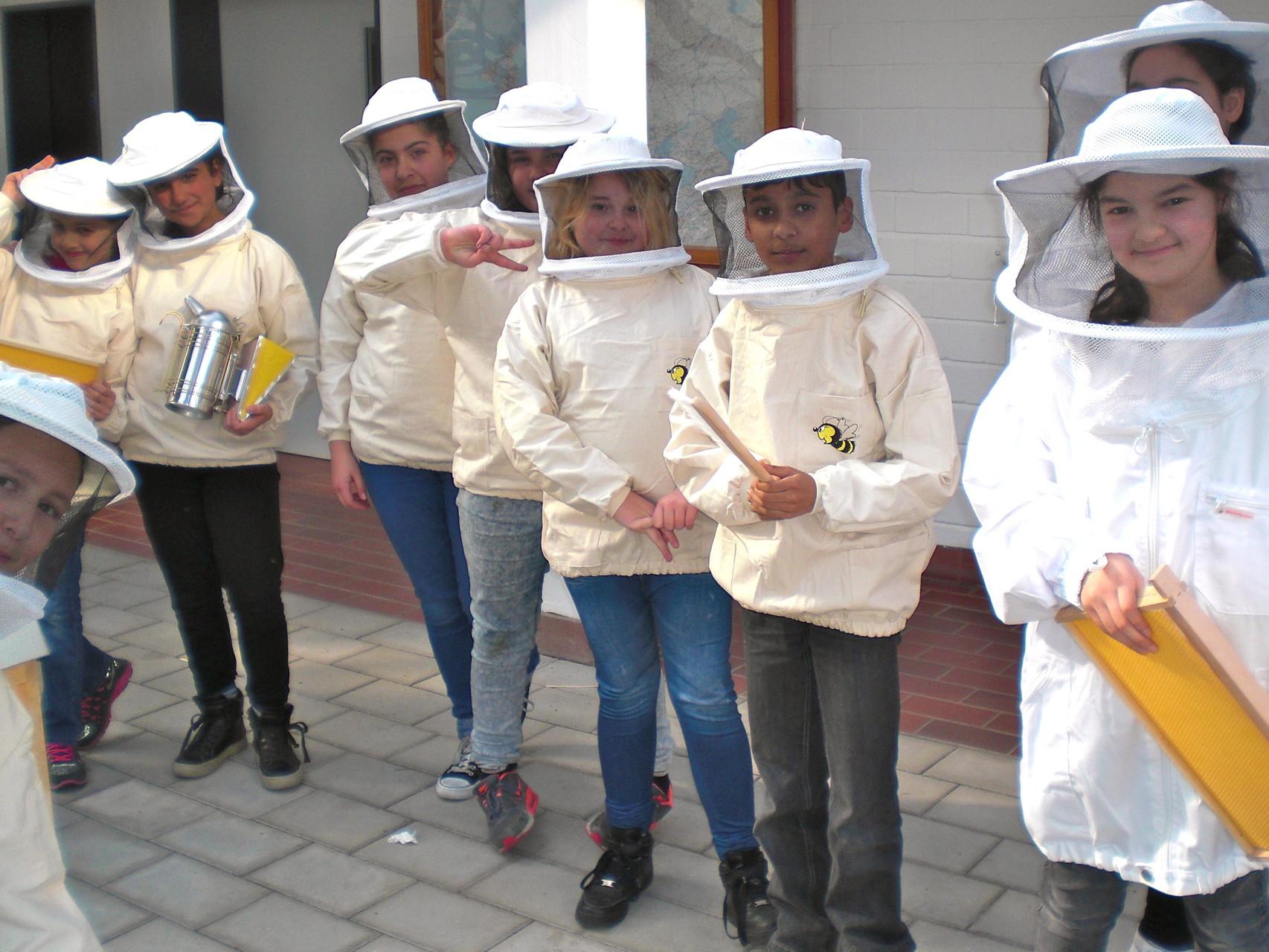 Die Bienenforscher - Honig an der Schule