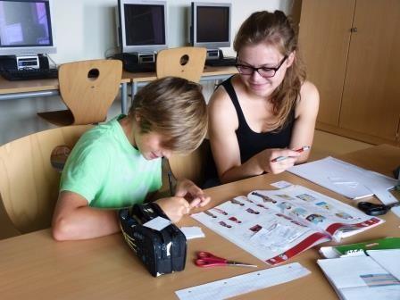Sommerschule an der Lobdeburgschule: Peer Learning pur