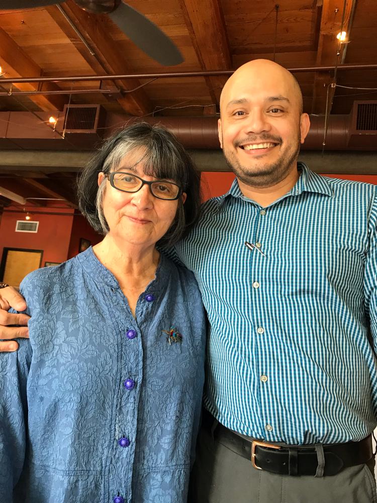 Doris Rodriguez mit Sohn José