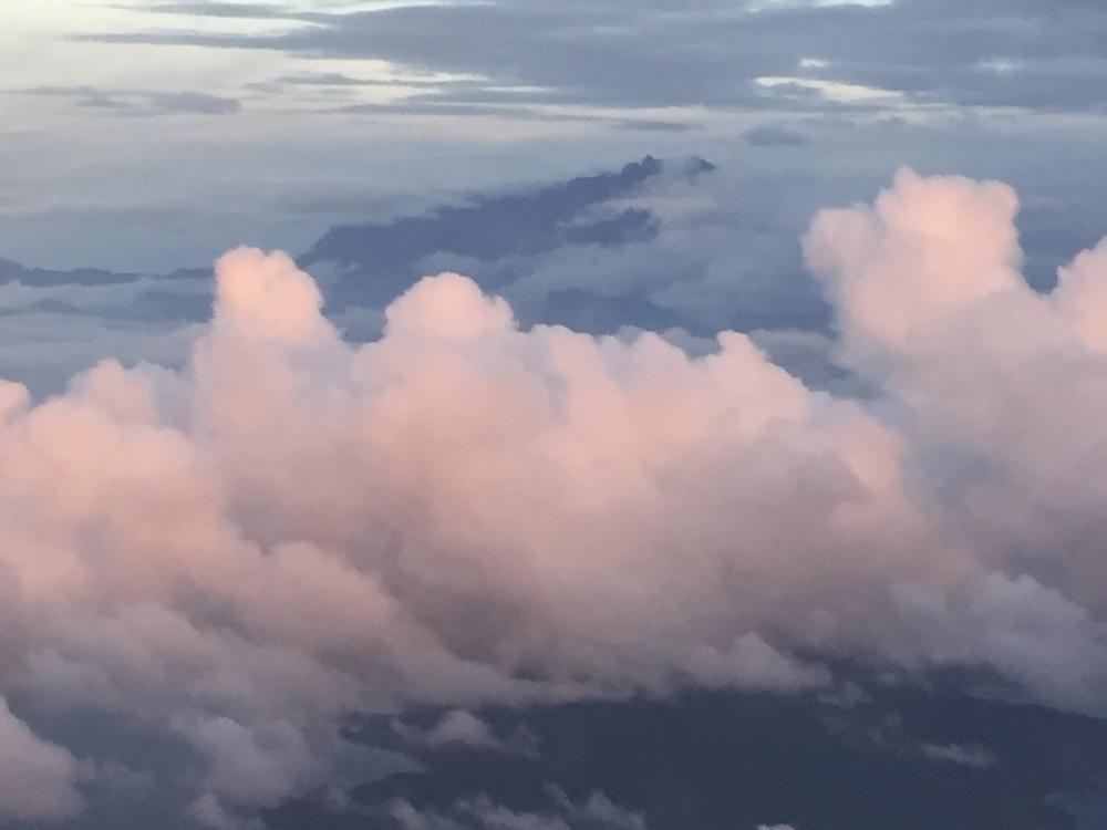 Der Göttliche enthüllt sich. Mount Kinabalu.