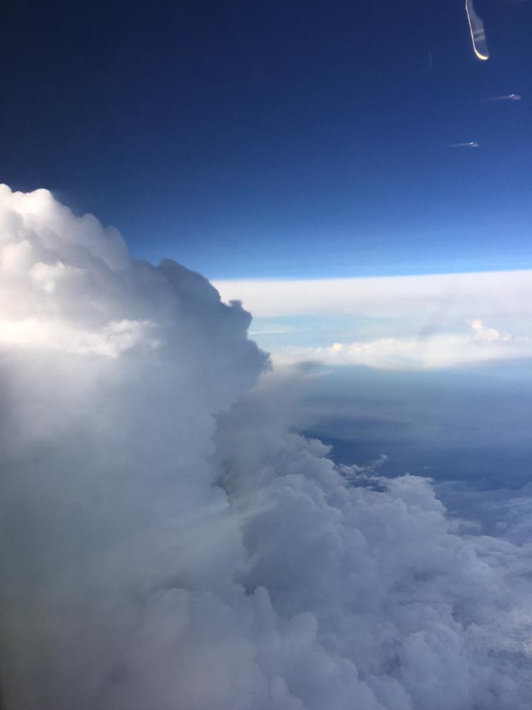 Wolkentanz über dem Chinesischen Meer