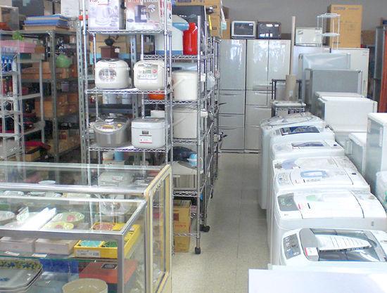 札幌市で中古家電をお探しなら、リサイクルショップ アウトレットモノハウス