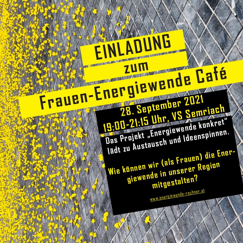 Einladung | Frauen-Workshop | Energiewende konkret