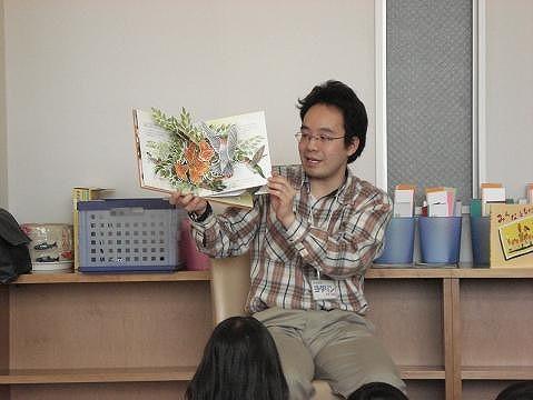 子ども会・保育園・学童にも行ったりします。