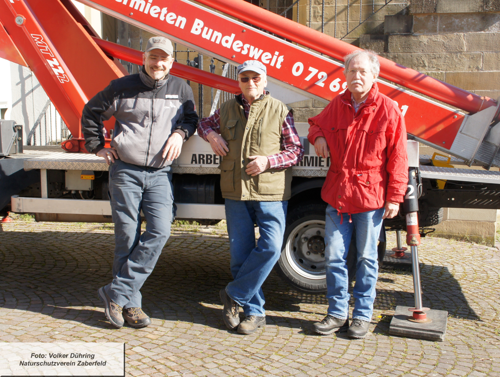 Wieder auf der Erde: Christian Rothbart, Rudiger Gaa, Hermann Stark