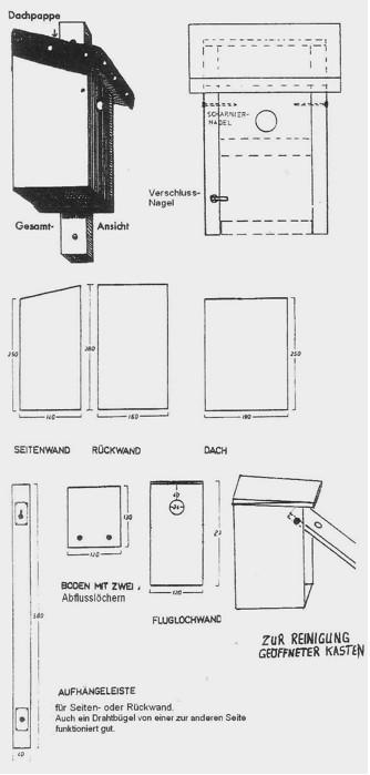 nistkasten meisen bauanleitung nistkasten meisen. Black Bedroom Furniture Sets. Home Design Ideas