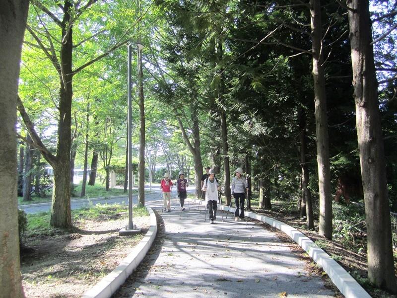 木洩れ日の中 ゆっくりと楽しい時間を過ごせます