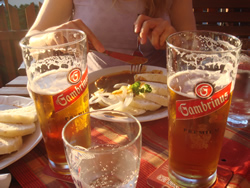 Leckeres gambrinus Bier. Isotonisch!