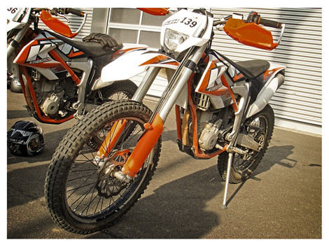 Freeride 350 von KTM