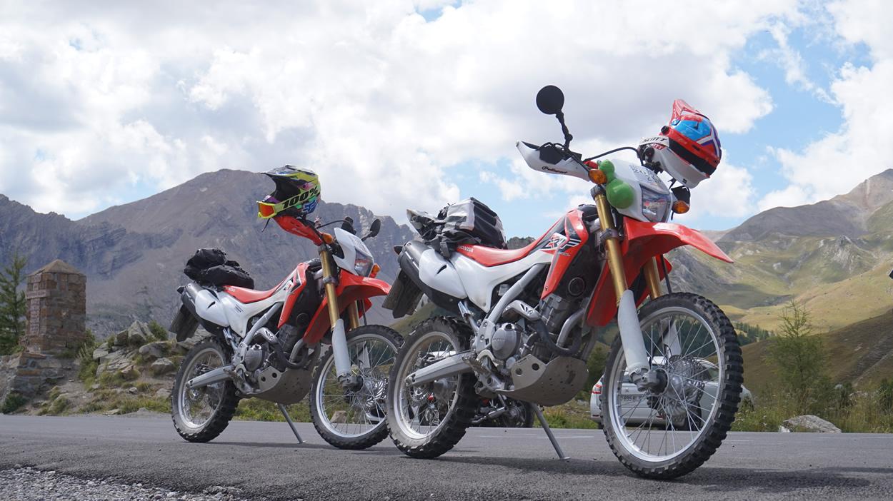 Honda CRF250L - Col de Vars