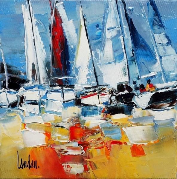 """Show maritime"" - 20x20"