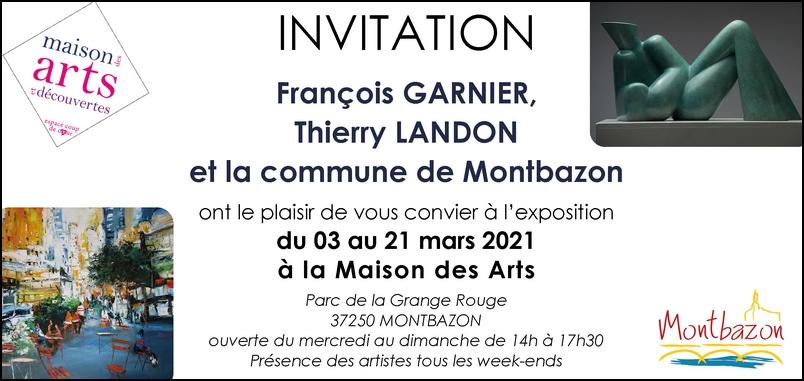 """Exposition à la """"Maison des Arts"""" - MONTBAZON (37)"""