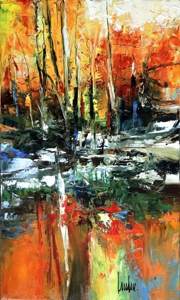 """""""L'appel de la forêt"""" - 30x50"""