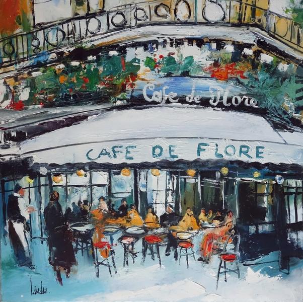 """""""Le Flore"""" - 60x60"""