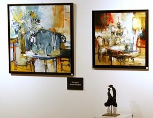 """Salon de Trélazé (49) - Prix de Peinture """"Artiste de - 50 ans"""""""