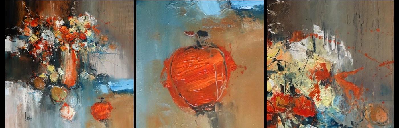 """Thierry LANDON - """"Messenger"""" - H/T - 100x100  et extraits."""