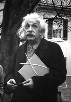 Albert Einstein ein überzeugter Rutengänger