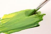 トールペイント、水彩画、アクリル画、絵の具と筆絵画