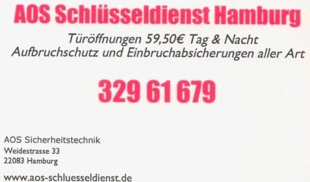 Schlüsseldienst hamburg & Umland