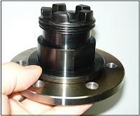 Adapter auf 6-Loch-Flansch