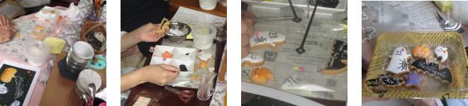 長崎市の託児所花笑 アイシングクッキー作り
