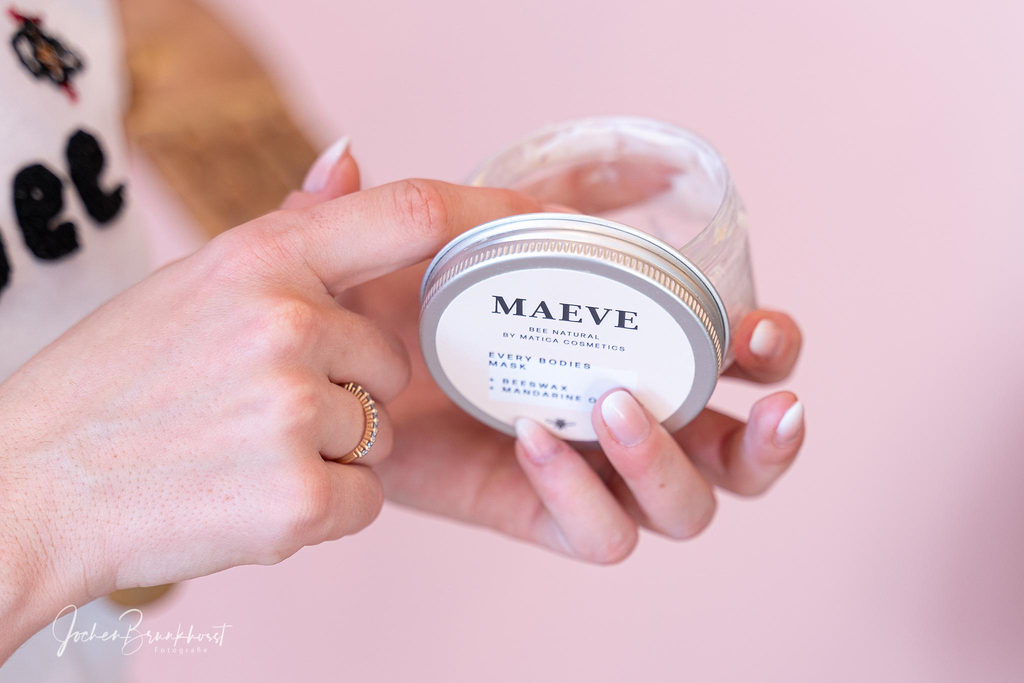 Matica Cosmetics Werbung für Social Media und Print