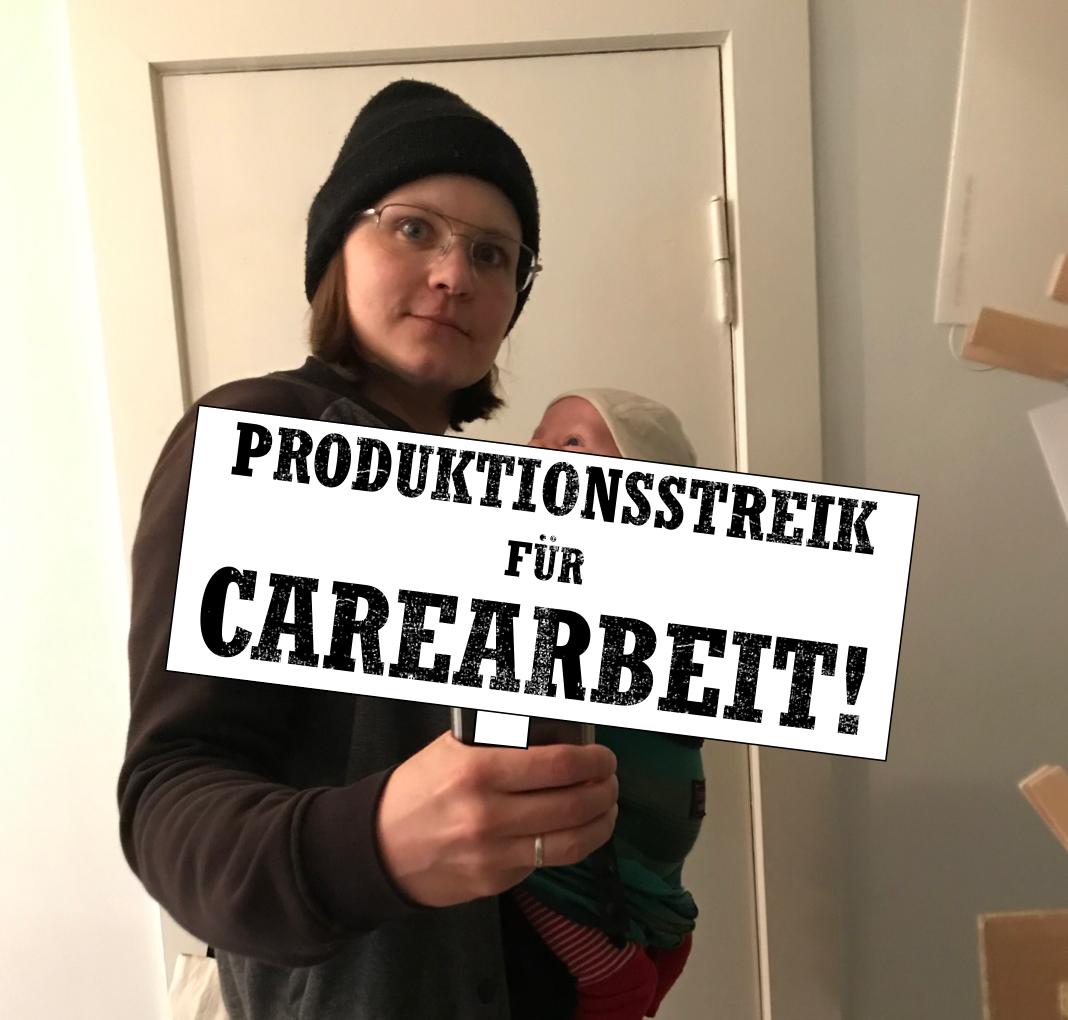 Produktionsstreik für Carearbeit