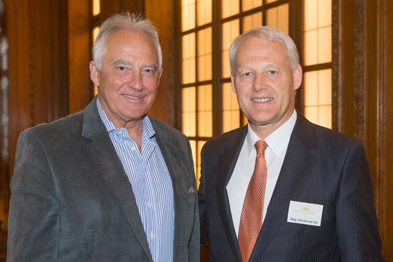Rudolf Semrad und Mag. Charles vanErp