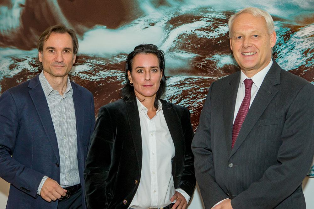 Stefan Rothleitner, Julie Monaco, Charles van Erp