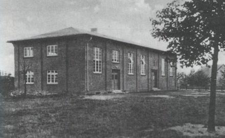 Foto der alten Sporthalle Rosenstraße in Selsingen