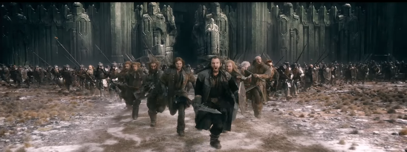 We are sons of Durin. And sons of Durin fight