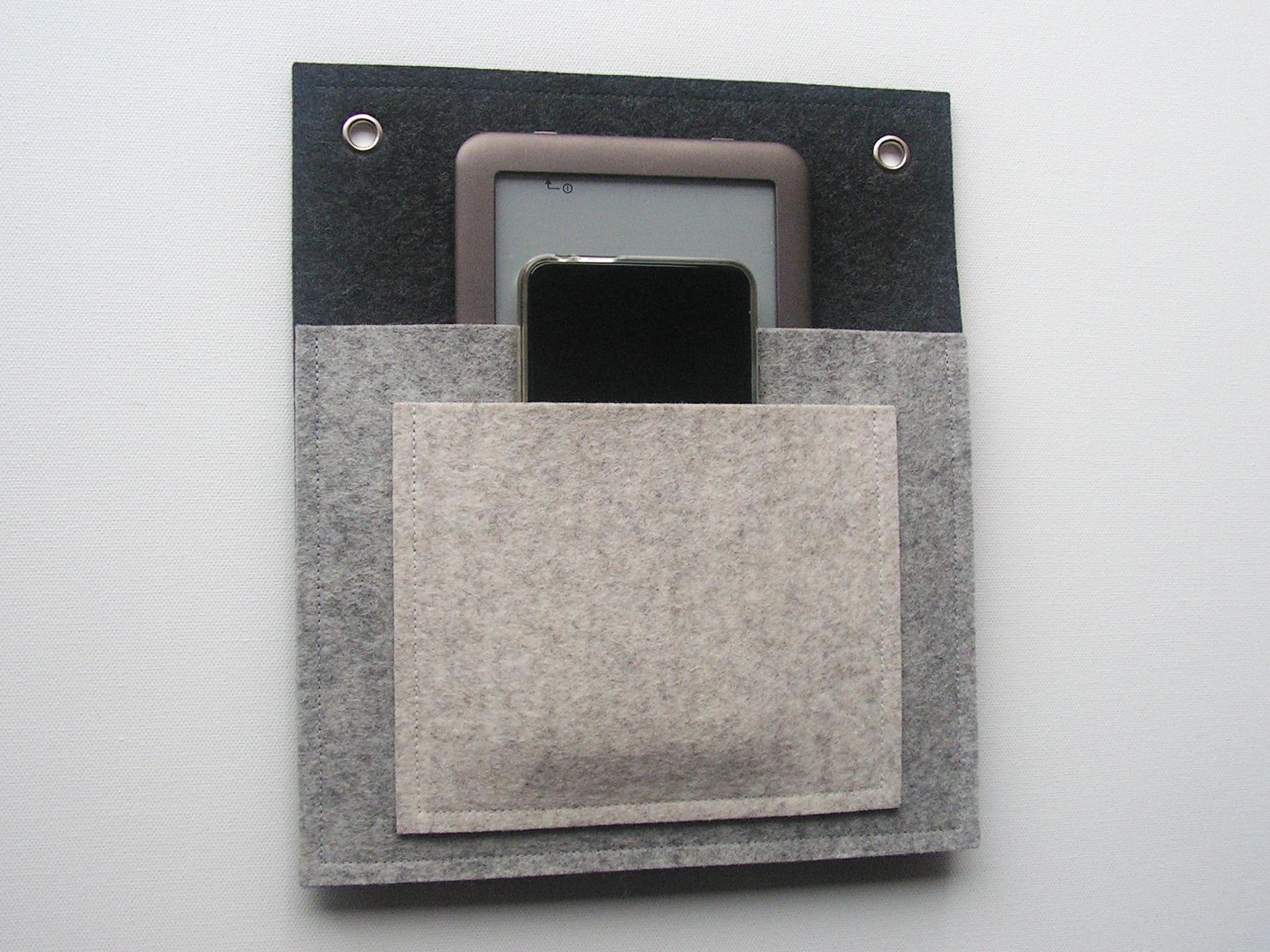 Doppeltasche für eReader und Handy