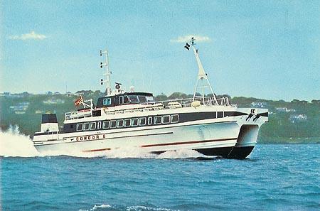 Condor 6 at sea.