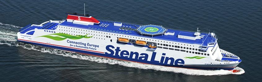 Brittany Ferries is to operate the third vessel of the Stena Line's E-Flexer class