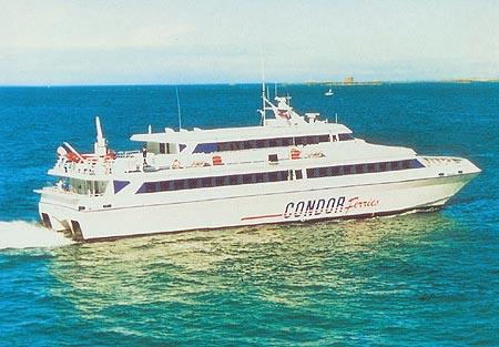 Condor France at sea.