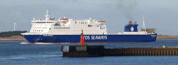 Baie de Seine as Sirena Seaways.