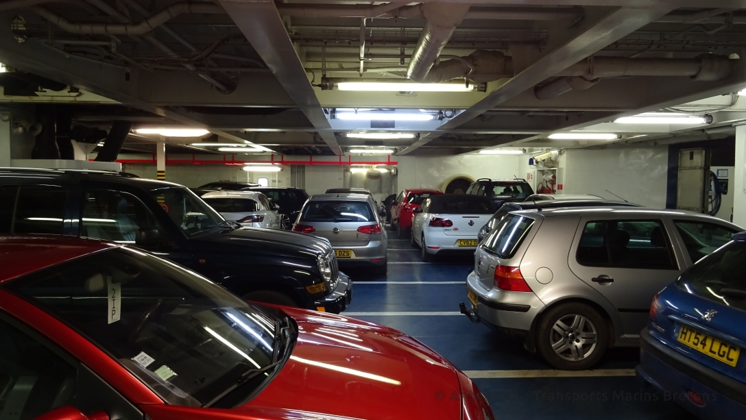 Cars parked at deck 05