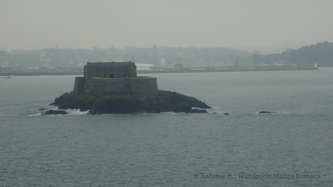 The Petit Bé. The Fort was built by Vauban in the XVIIth century in order to protect Saint-Malo from any Brittish or Dutch attack