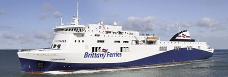 M/V Connemara, le Visentini-class vessel which will be chartered to reinforce Brittany Ferries's Irish routes.
