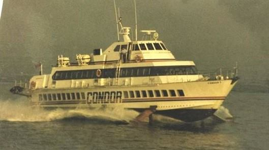 Condor 7 at sea. Courtesy Tony RIVE.
