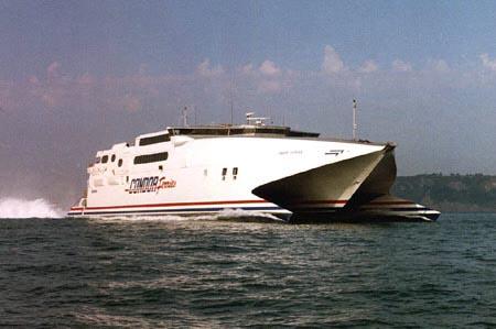 Condor Express. Picture Kevin LE SCELLEUR.