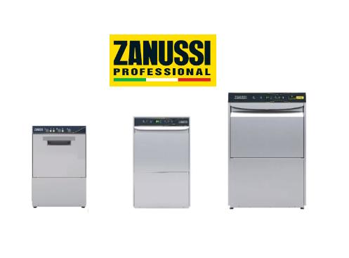 Nueva línea de lavado de vajilla de Zanussi Professional