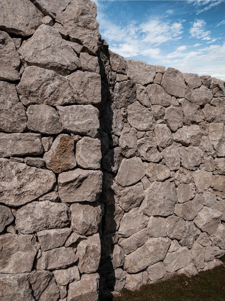 グレイスロッカリー石積み