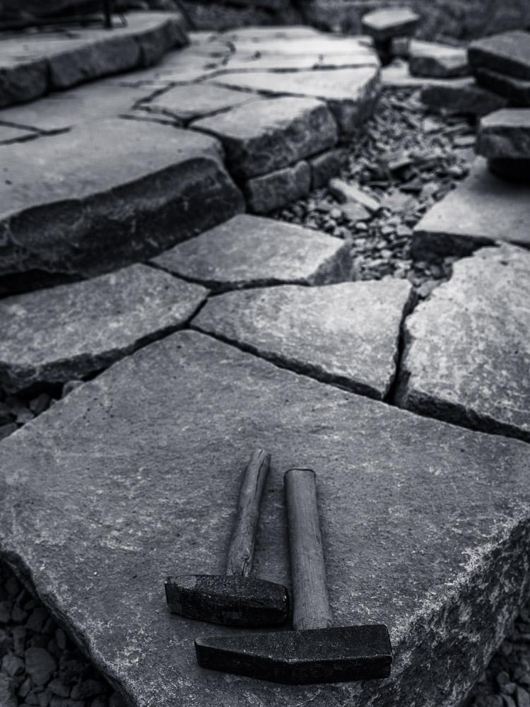 空石積みの風景-諏訪鉄平